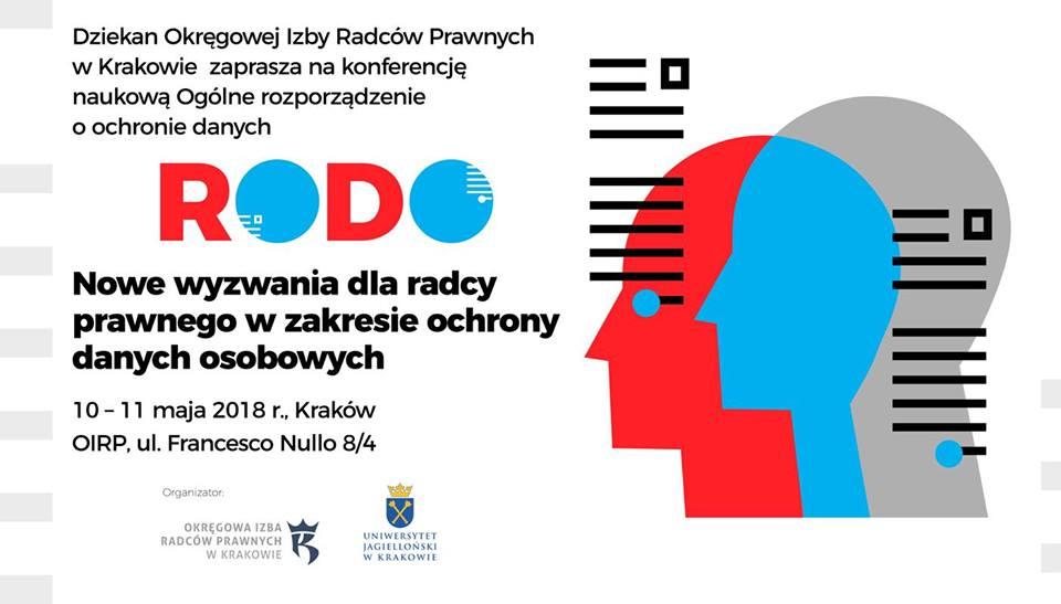 """r. pr. dr Dominik Lubasz prelegentem podczas Konferencji: """"Ogólne rozporządzenie o ochronie danych (RODO)"""